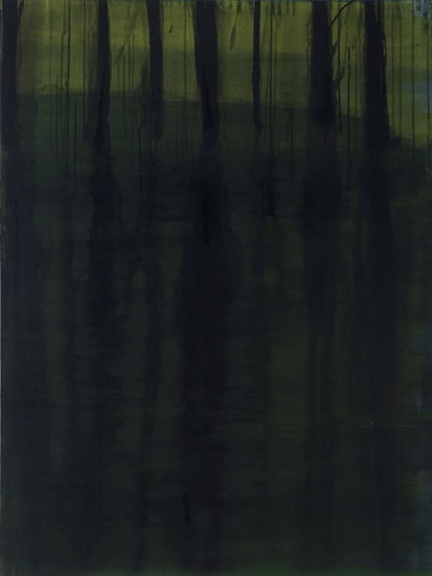 "Mercer, 2006, acrylic on canvas, 48"" x 36"""