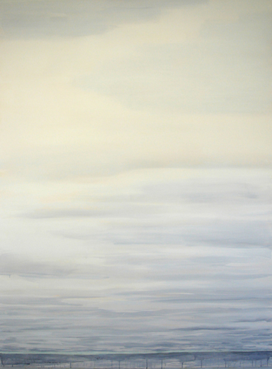 "Overcast, 2006, acrylic on canvas, 72"" x 54"""