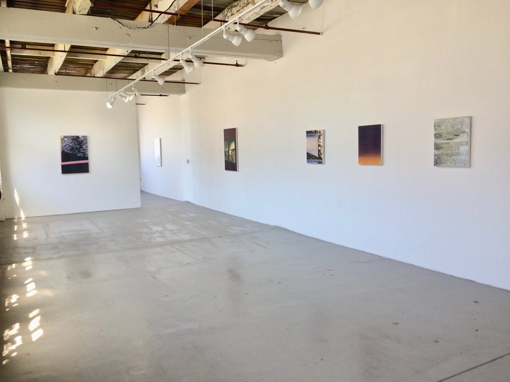 installation view, Nascent Things, 2018, Tiger Strikes Asteroid