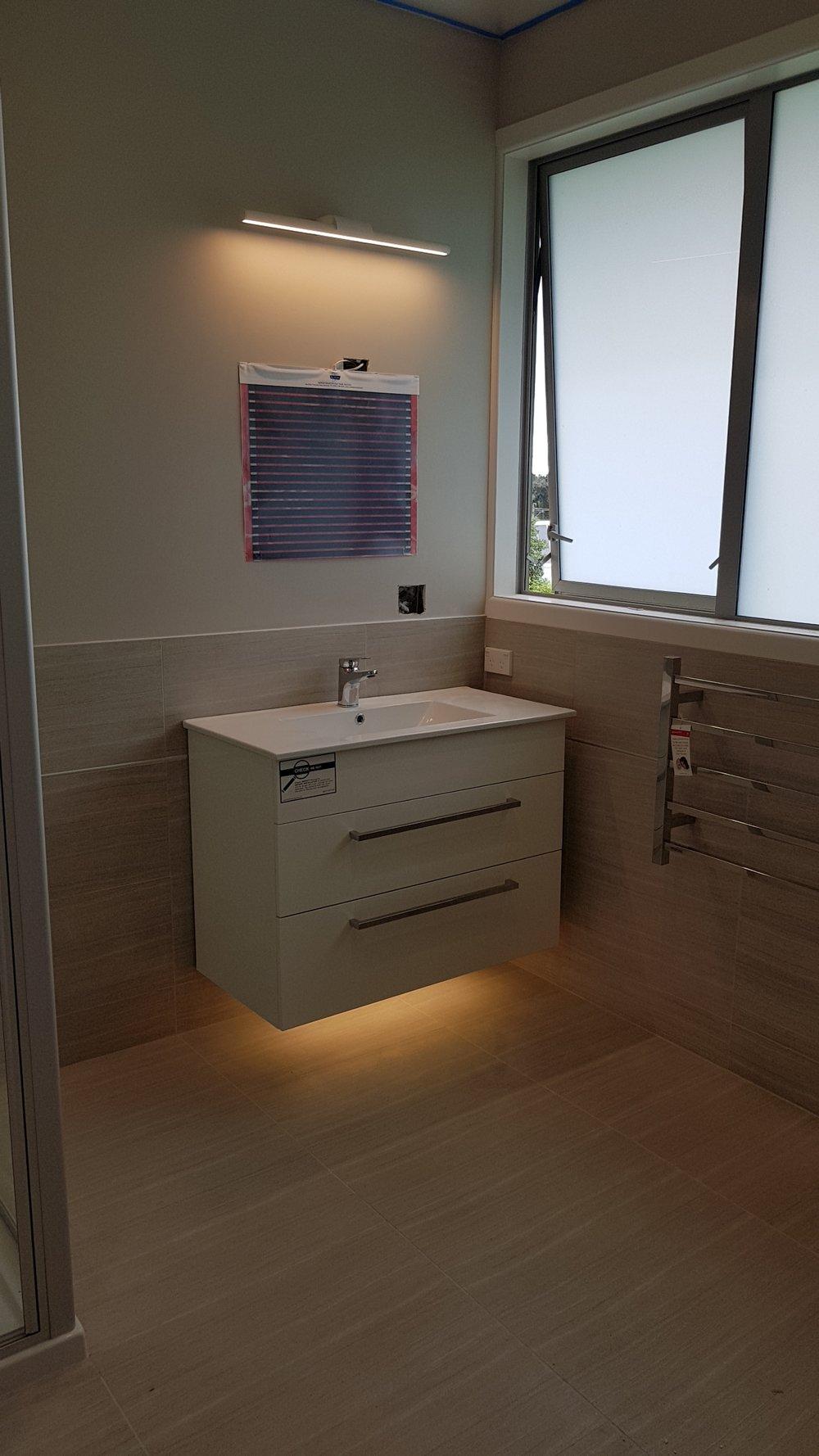 Electrician Kapiti Bathroom Work