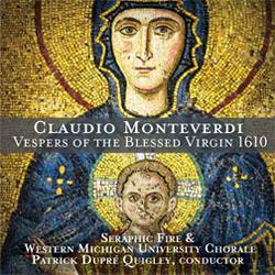 Monteverdi Vespers<b><br><small>Seraphic Fire</small></b>