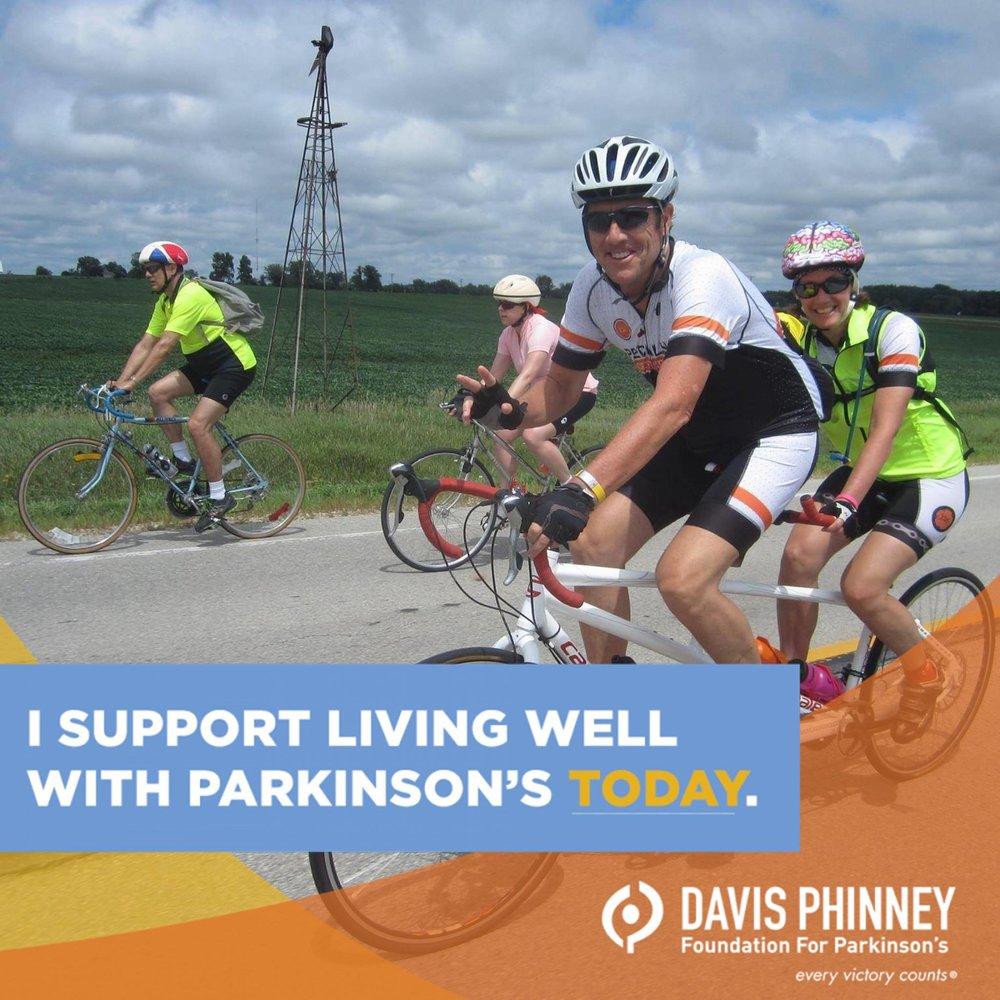 Pat and Cidney Donahoo riding across Iowa