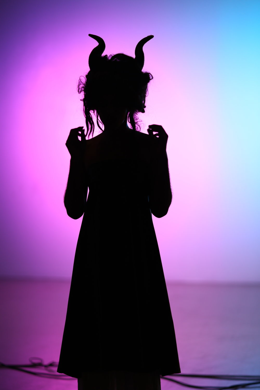 مرحبا ( Hello), 2017, Performance. -The dark goddess of drag, Pearl of Arabia lingering in the shadows during her performance of Adele's, Hello . Taken During Closing Reception.
