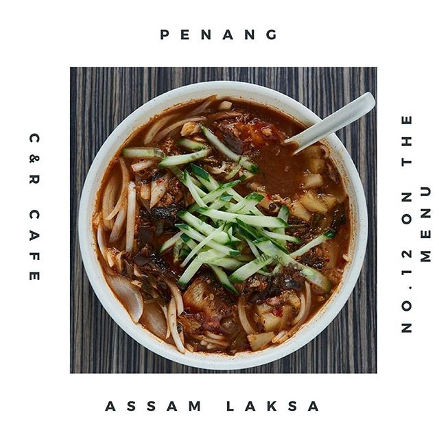 Penang Assam Laksa 亞三辣沙 Spicy, sour and tangy broth. Your new favourite alternative laksa, trust me 😏. #sedap #laksa #soho #chinatownlondon