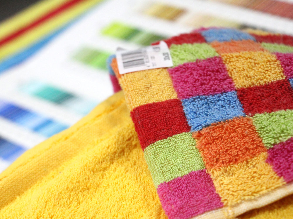 DESIGN STUDIO - Our studio is equipped with the right expertise for the design and innovation of our unique collections & colour development ensuring our customers get the freshest and most fashionable towels in the industry