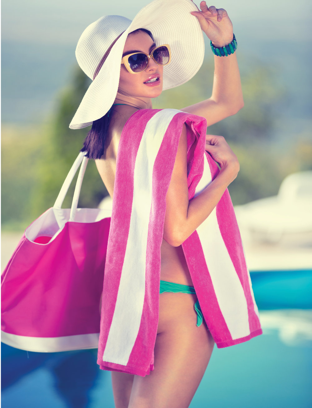 BEACH  Hit the beach in style with one of Nortex's fashionable beach towels, that are large yet lightweight. Enjoy the sun and stay sand free with a Nortex Beach Towel.