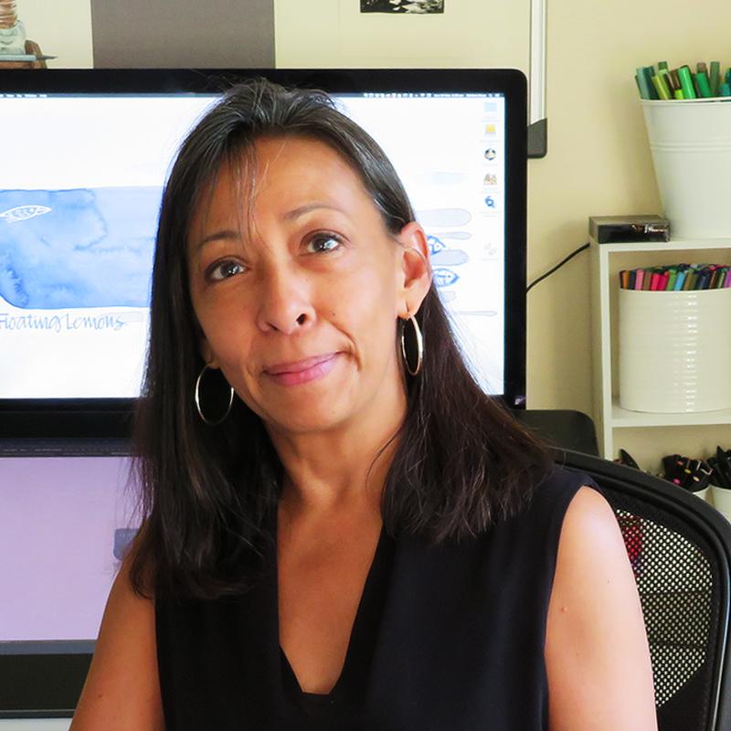 Mariana - The creative artist and wanna-be-techie