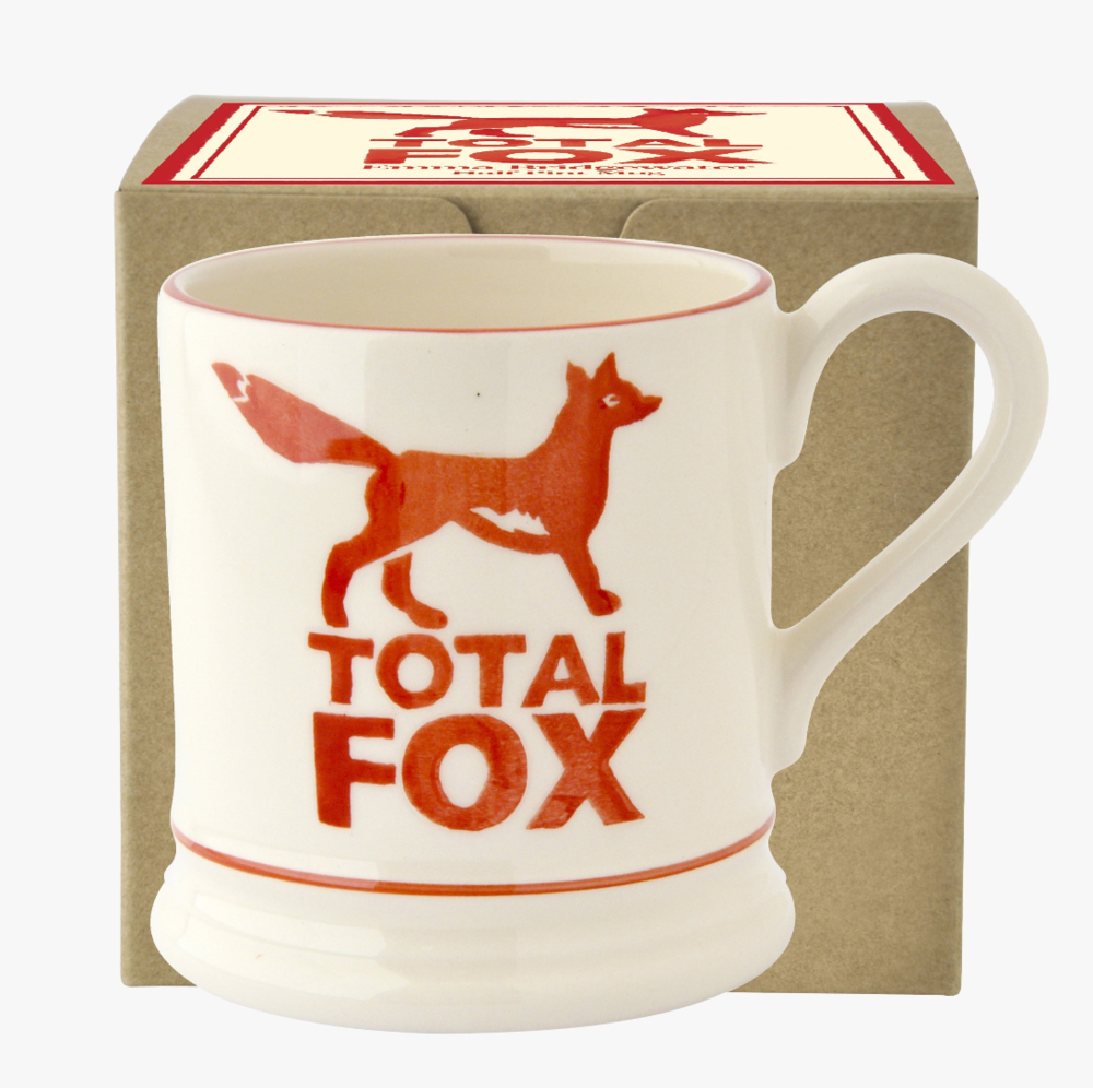 Total Fox Mug by Emma Bridgewater