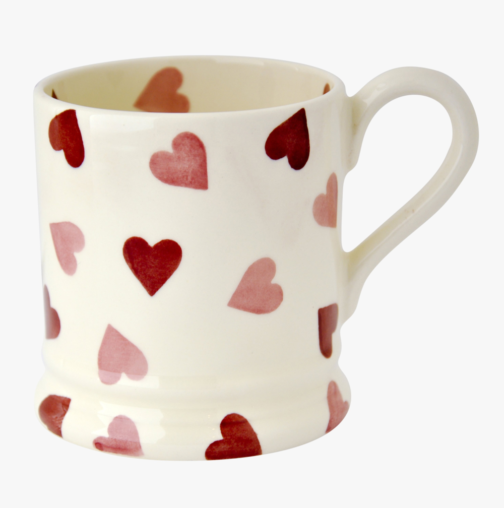 Pink Hearts Mug by Emma Bridgewater