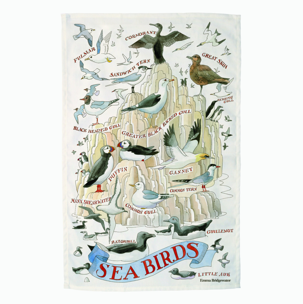 Sea Birds Tea Towel by Emma Bridgewater