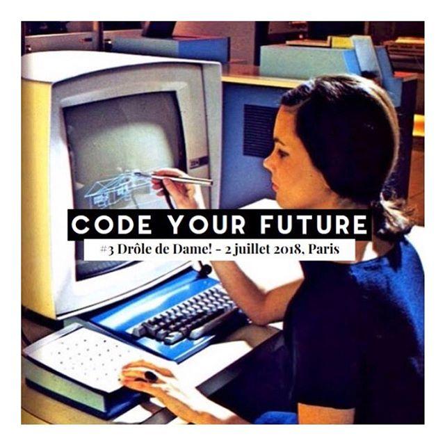 Même si on ne souhaite pas devenir soi-même développeuse, comprendre les enjeux, les langages du code et en appréhender les bases est devenu non pas important mais VITAL aujourd'hui. Alors, pour toutes les entrepreneures et curieuses, rejoignez-nous le 2 juillet ! ✨Lien dans la bio . . . #code #codeuse #numerique #digital #femmedunumerique #femmedigitale #entrepreneur #entrepreneure #formation #talk #inspiration #talkinspirant #evenement #gogirl #sorority #sororité #sisterhood