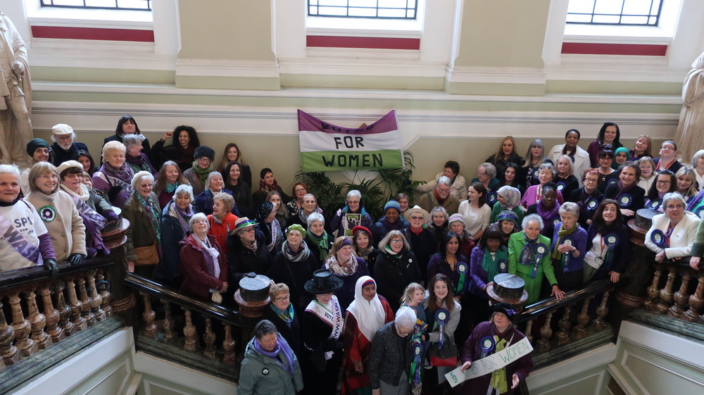 Celebration of the Representation of the Peoples Act – Women Suffrage – 2018 -