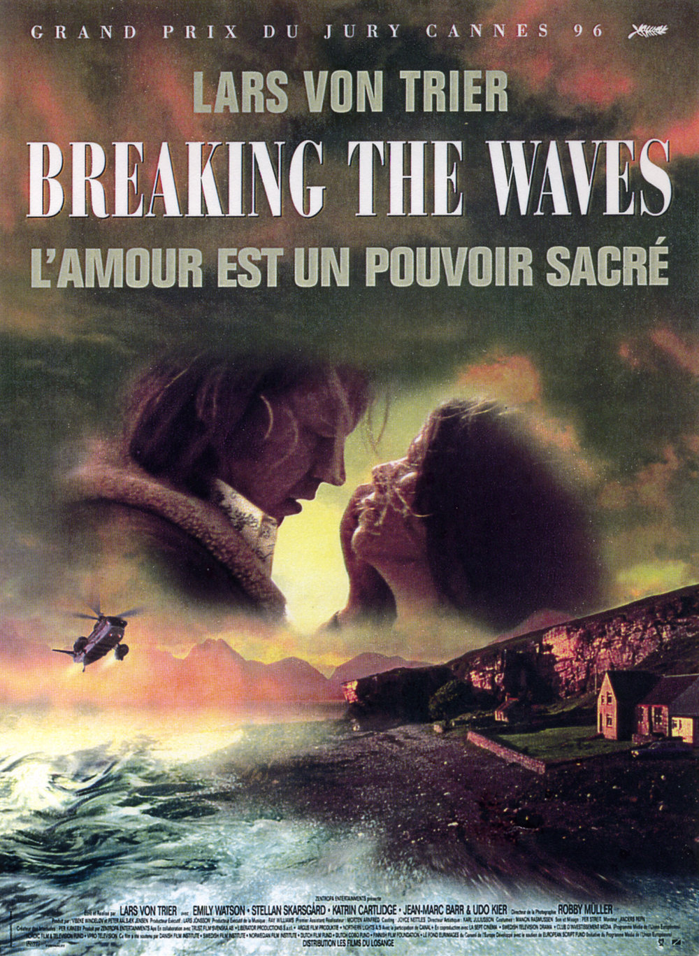 Breaking the waves  de  Lars Von Trier