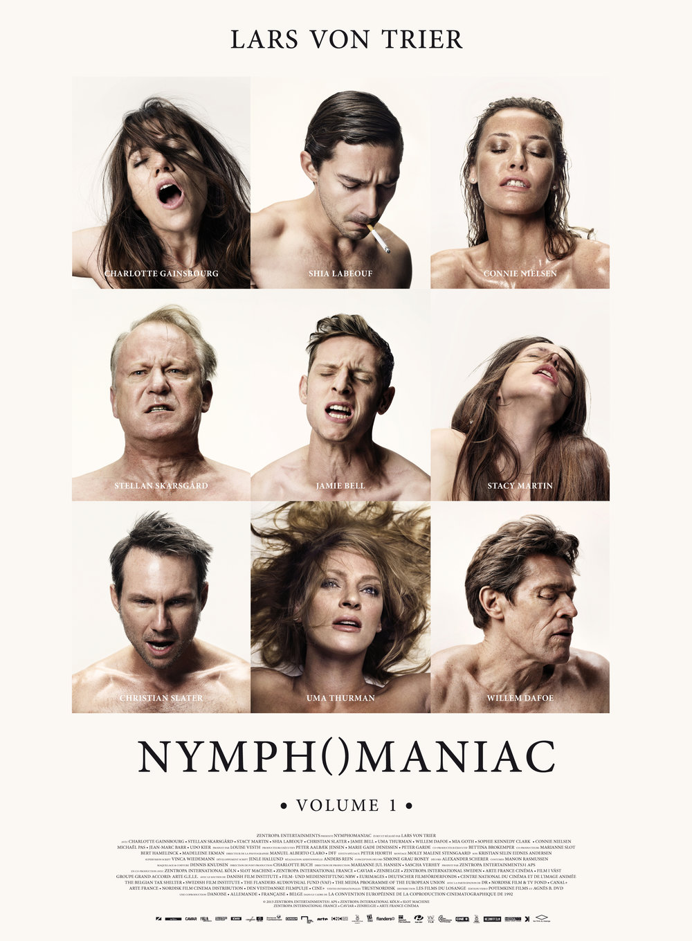 Nymphomaniac Vol. 1  by  Lars Von Trier