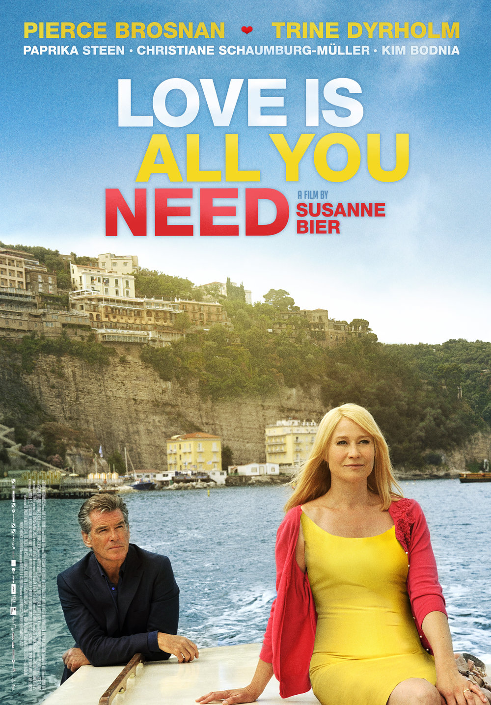 Love is all you need  by  Susanne Bier