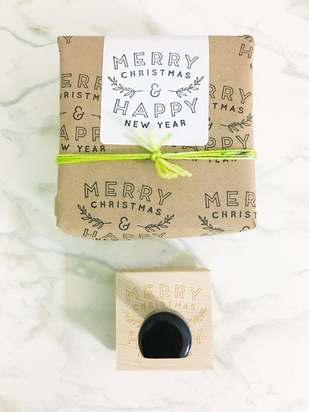 Creatiate Custom Stamps DIY Christmas Gift Wrap27.jpg