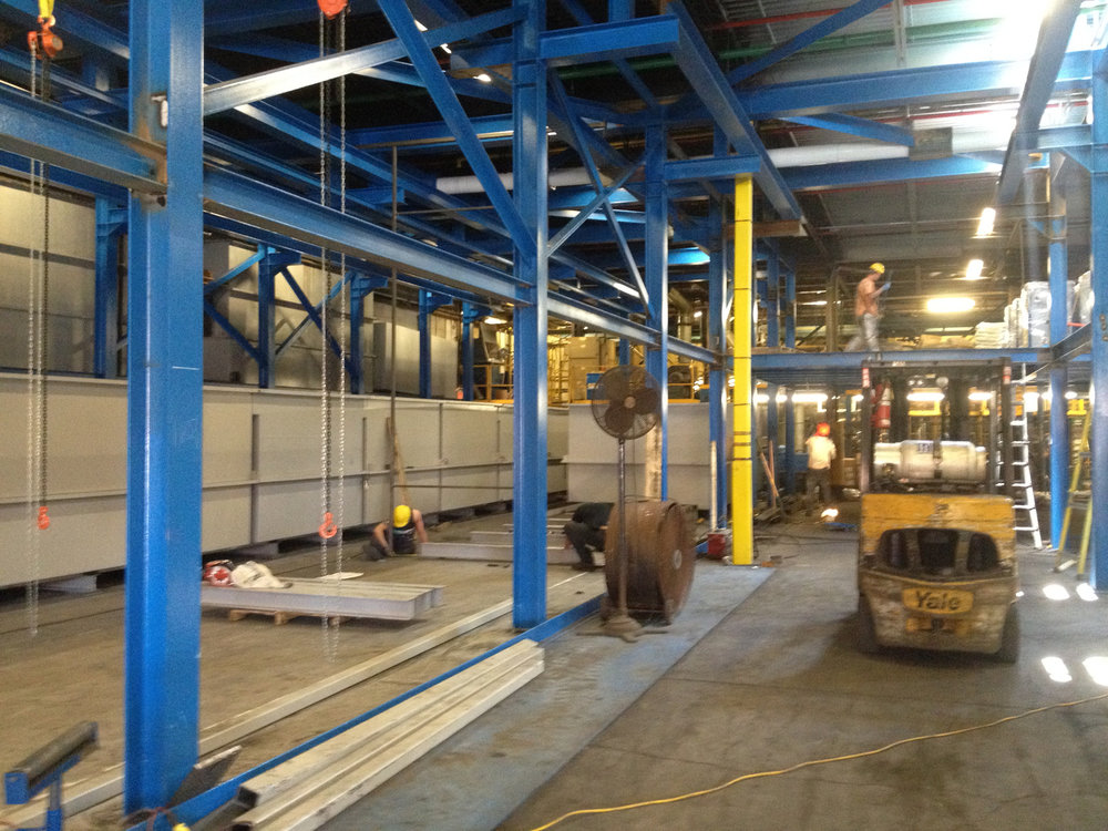 Structural Steel Fabrication & Installation Project