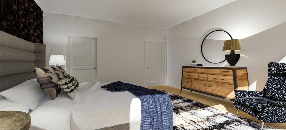 Bachelor Master Bedroom