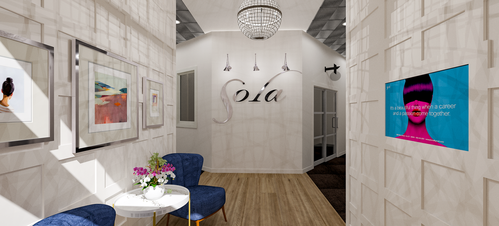Sola Salons Transitional Foyer Scheme 1
