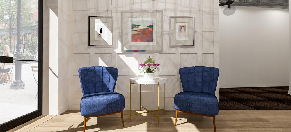 Sola Salons Design Book: Transitional Foyer Scheme 1