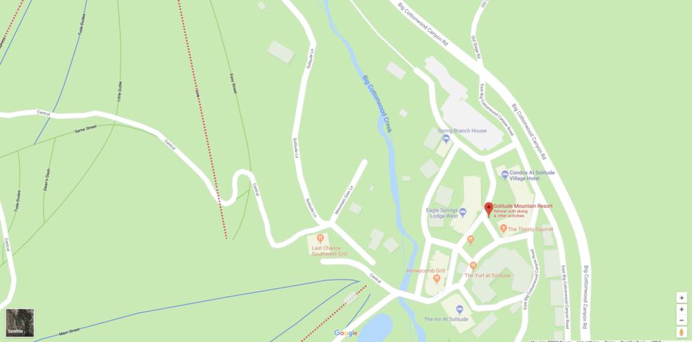 Solitude Utah Map.Venue Solitude Orienteering Utah