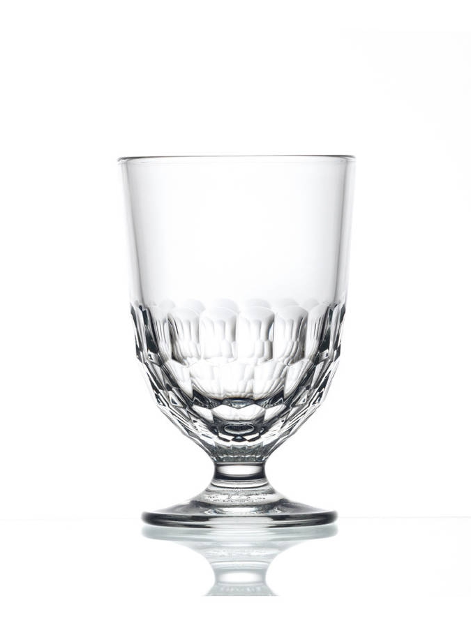 Gorgeous glassware - No plastic here - add a touch of elegance to your picnic with this gorgeous glass tumbler from Home Address. Its short stem means that it won't topple over easily whilst the faceted design will add some sparkle to your al-fresco dining. Well, they are made in the oldest glassworks in France after all!