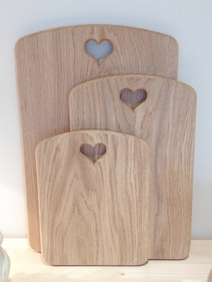 Chop-chop - These beautiful English oak chopping boards from James and Sophie Home are a must-have for preparing food on the go. They're even finished with hand-carved hearts which are not only charming but make for easy carrying. Certain to get plenty of use all year round, they come in a range of handy sizes and can also be custom made from their workshop in Somerset.
