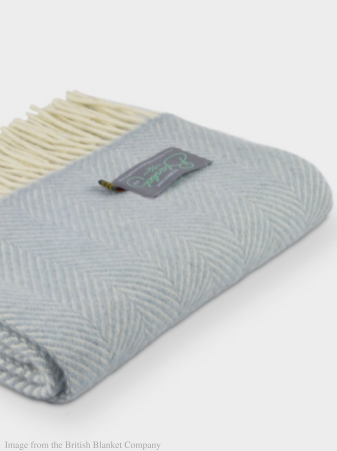 Luxury wool blanket - First things first. No picnic is complete without a comfy blanket, and this luxurious duck egg blanket from The British Blanket Company is perfect for the job. It's made in Britain and comes in a smaller size too with free delivery. And when you're not picnicking left right and centre, they'll be right at home in the garden and draped over chairs when it's cooling down.