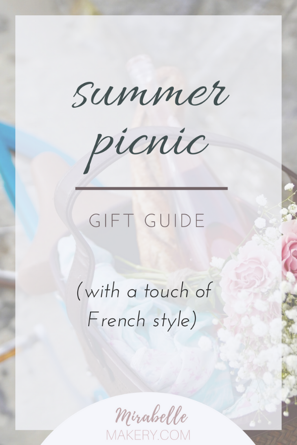 shabby chic summer picnic gift guide for her
