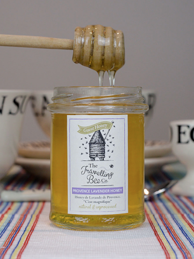 Honey - Made by happy bees this Provence Lavender Honey from the Travelling Bee Company makes the sweetest gift. Their raw and unprocessed honey is proudly hand spun and made using natural beekeeping methods with the welfare of the bees, the environment and quality at the heart. Honey has so many health benefits and is a great alternative to sugar. Add it to coffee, yoghurt, use it for baking or just enjoy it by the spoonful.