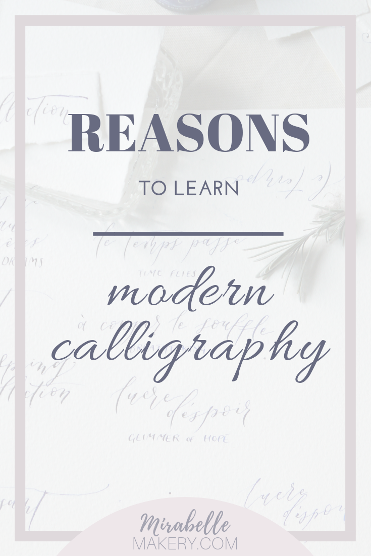 Why you should take up the art of modern calligraphy as a hobby