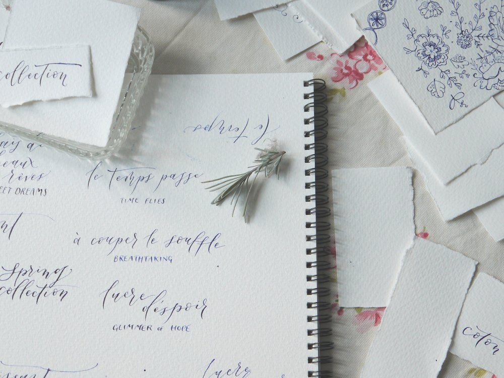 Take part in a modern calligraphy course for beginners to get started