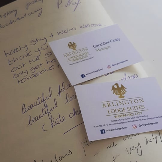 Come along and relax in luxury at ARLINGTON LODGE SUITES, WATERFORD.