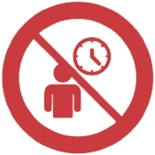 40212157-No-Ban-or-Stop-signs-Queue-icon-Person-waiting-sign-Check-or-Tick-and-time-clock-symbols-Prohibition-Stock-Vector copy.jpg