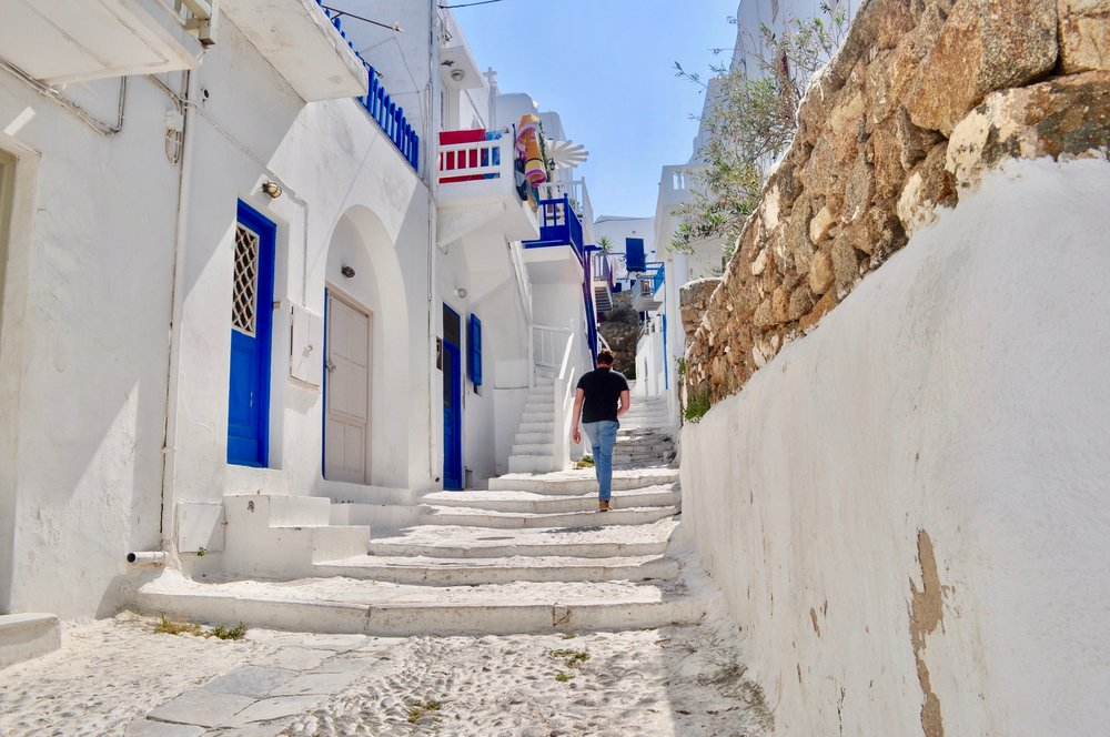 Exploring the Greek Isles on a Cruise - A Happy Passport #greece #cruise #mykonos