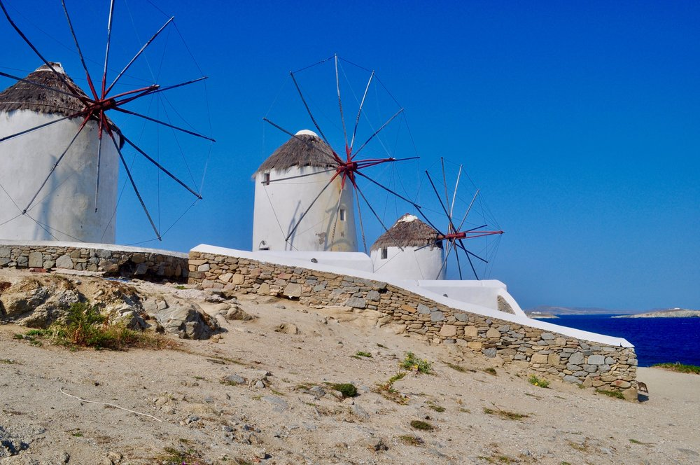 Exploring the Greek Isles on a Cruise - A Happy Passport #greece #mykonos #cruise