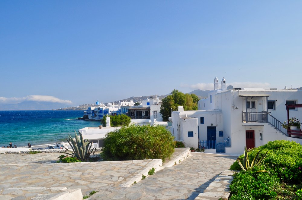 Exploring the Greek Isles on a Cruise - A Happy Passport #mykonos #cruise #greece