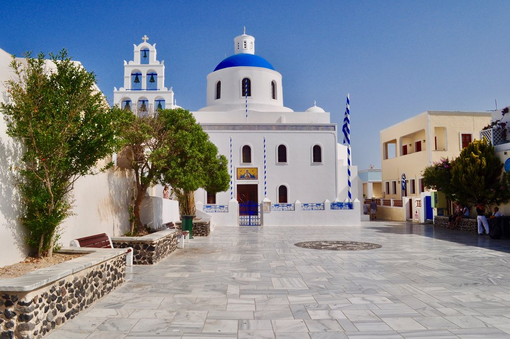 Exploring the Greek Isles on a Cruise - A Happy Passport #greece #oia #cruise