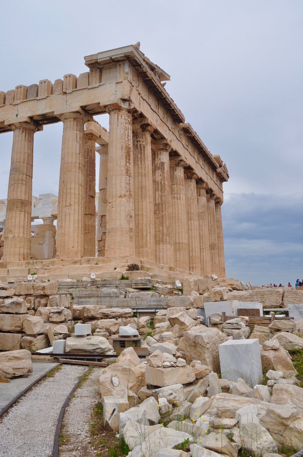 Exploring the Greek Isles on a Cruise - A Happy Passport #greece #athens #acropolis