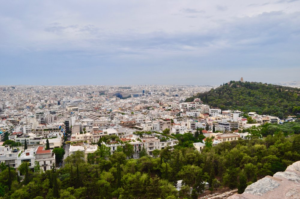 Exploring the Greek Isles on a Cruise - A Happy Passport #greece #athens #cruise