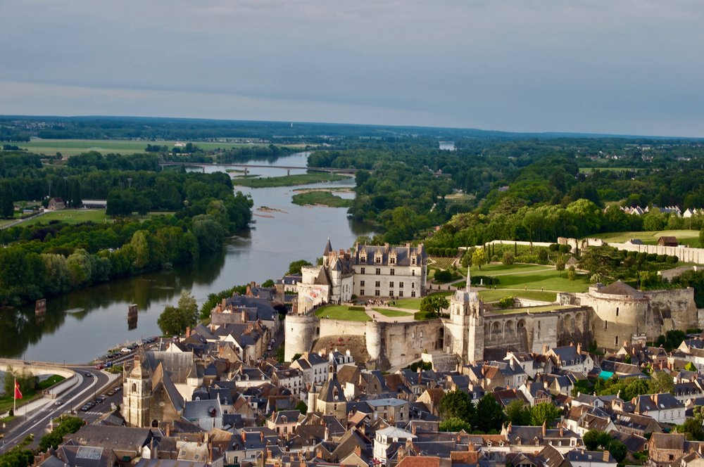 Amboise Chateau - 5 Most Magnificent Castles of the Loire Valley - A Happy Passport #chateau #castle #france #amboise