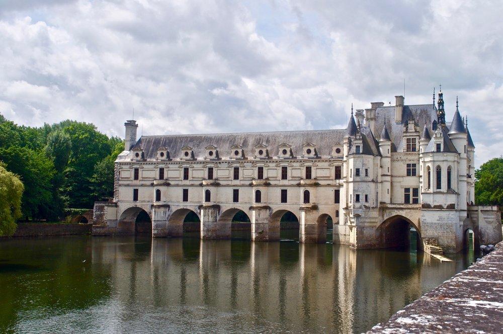Chenonceau Chateau - 5 Most Magnificent Castles of the Loire Valley - A Happy Passport #chateau #castle #france #chenonceau