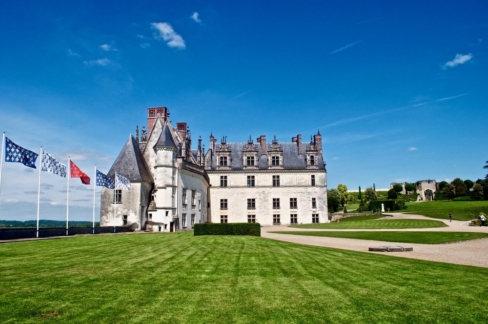 Amboise Chateau, Loire Valley - The Ultimate Northern France Itinerary #amboise #france #chateau