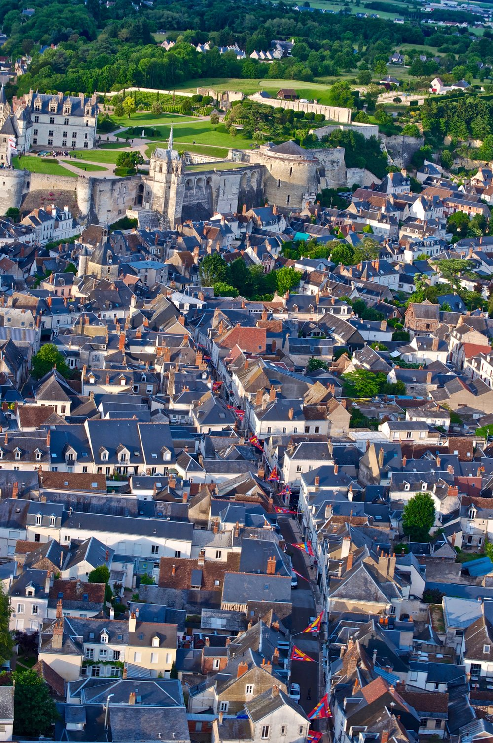 Amboise - Hot Air Balloon Ride over the Loire Valley - Ultimate Northern France Itinerary