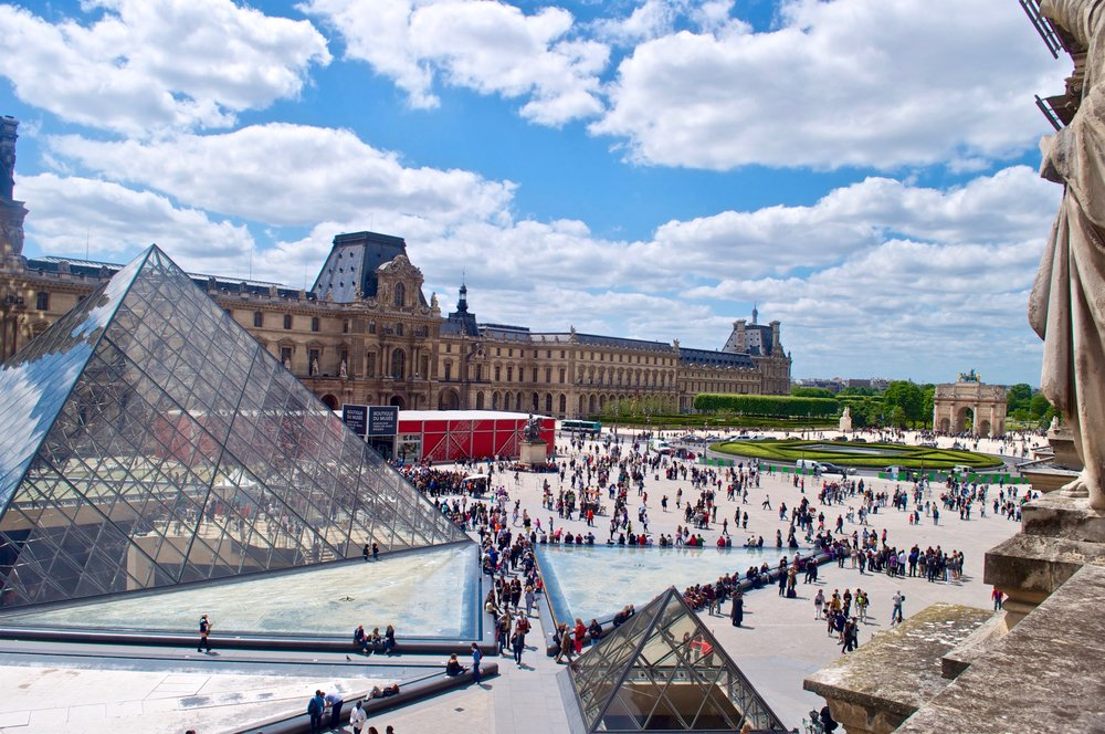 Louvre Museum, Paris, France - The Ultimate Northern France Itinerary