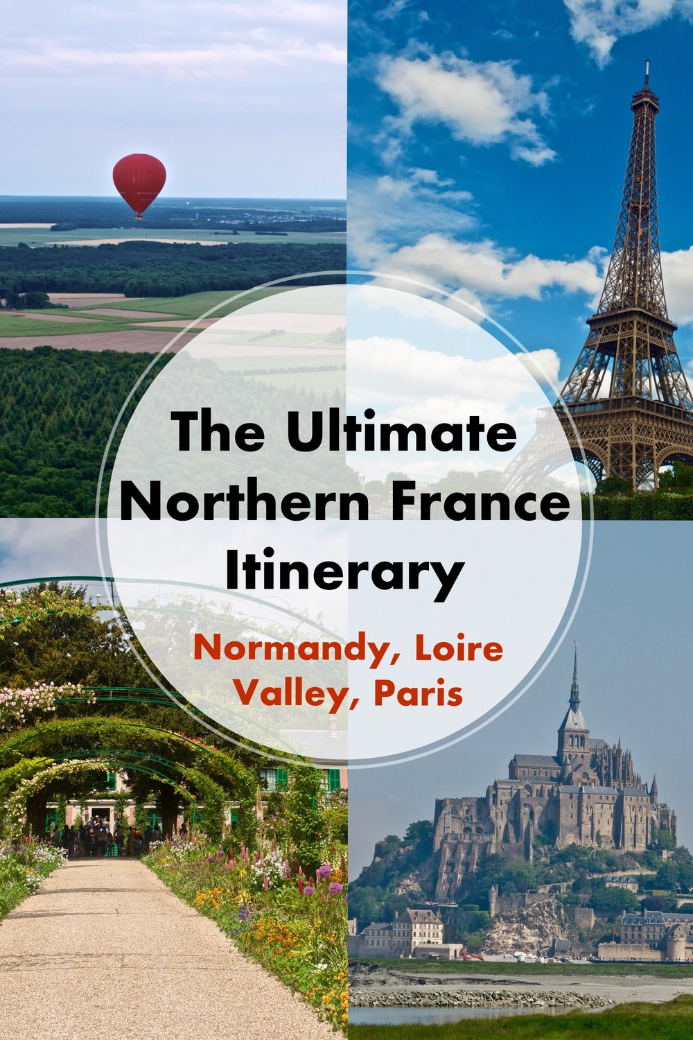 The Ultimate Northern France Itinerary: Normandy, Loire Valley, Paris - A Happy Passport #france #loirevalley #Paris #normandy #travel #europe