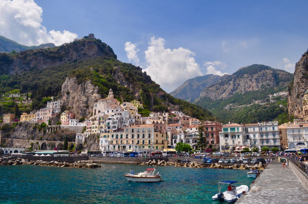 Amalfi, Italy - How to Use Credit Card Rewards for a Free Two Week European Vacation