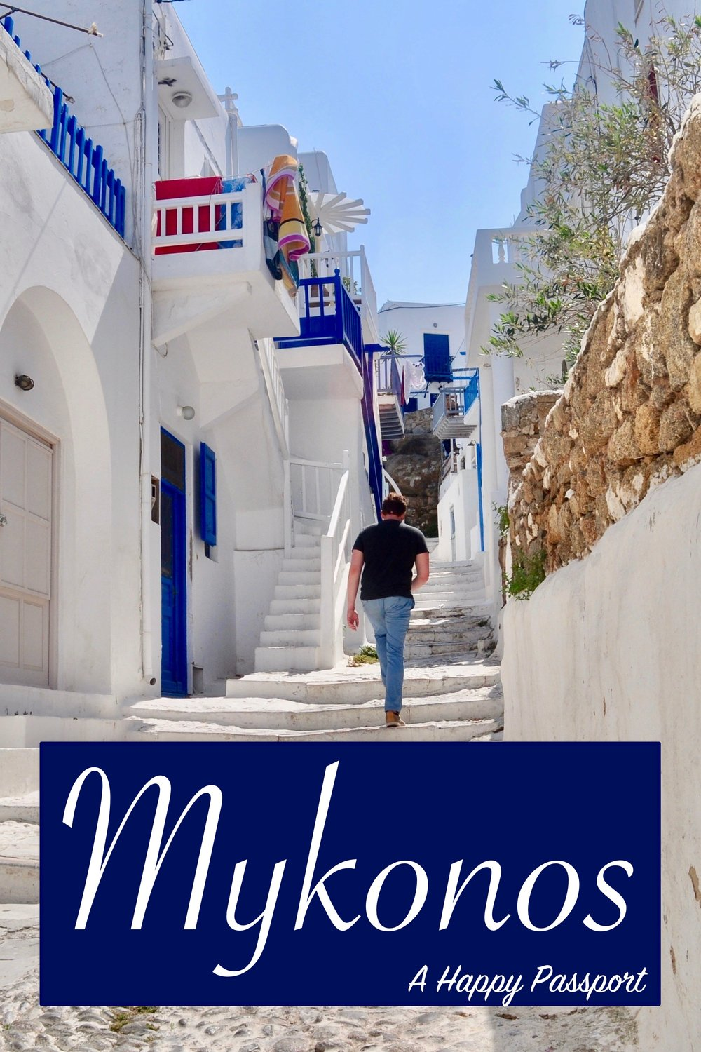Half-Day in the Stunning Mykonos, Greece - A Happy Passport.  A guide for spending a half-day in Mykonos Town from a cruise ship. #mykonos #Greece #cruise #europe #travel