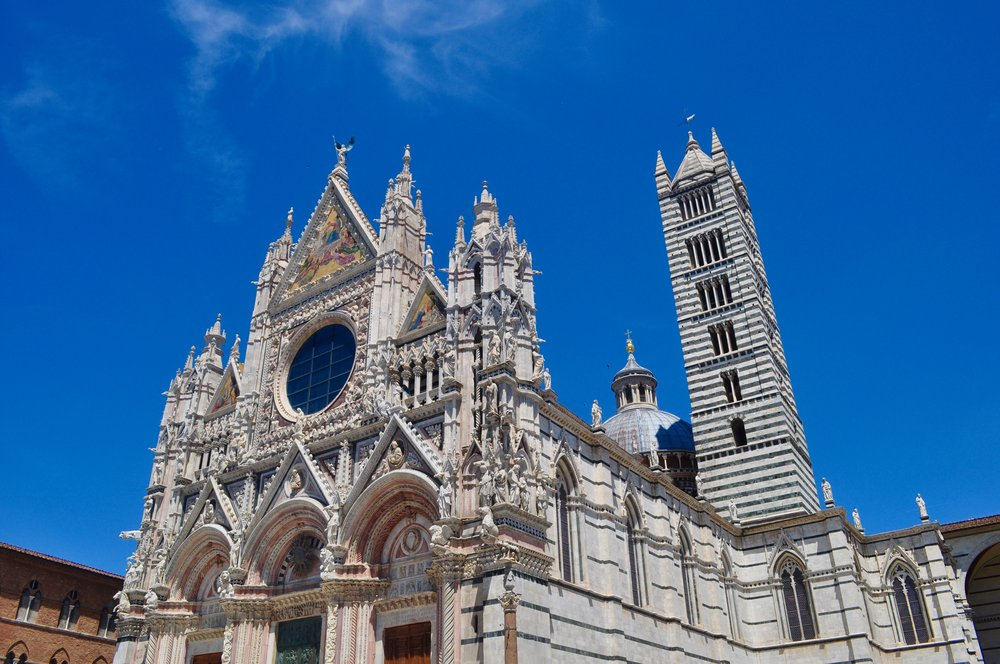Siena Cathedral Exterior - Scenic Day Trip to Siena from Florence, Italy - A Happy Passport
