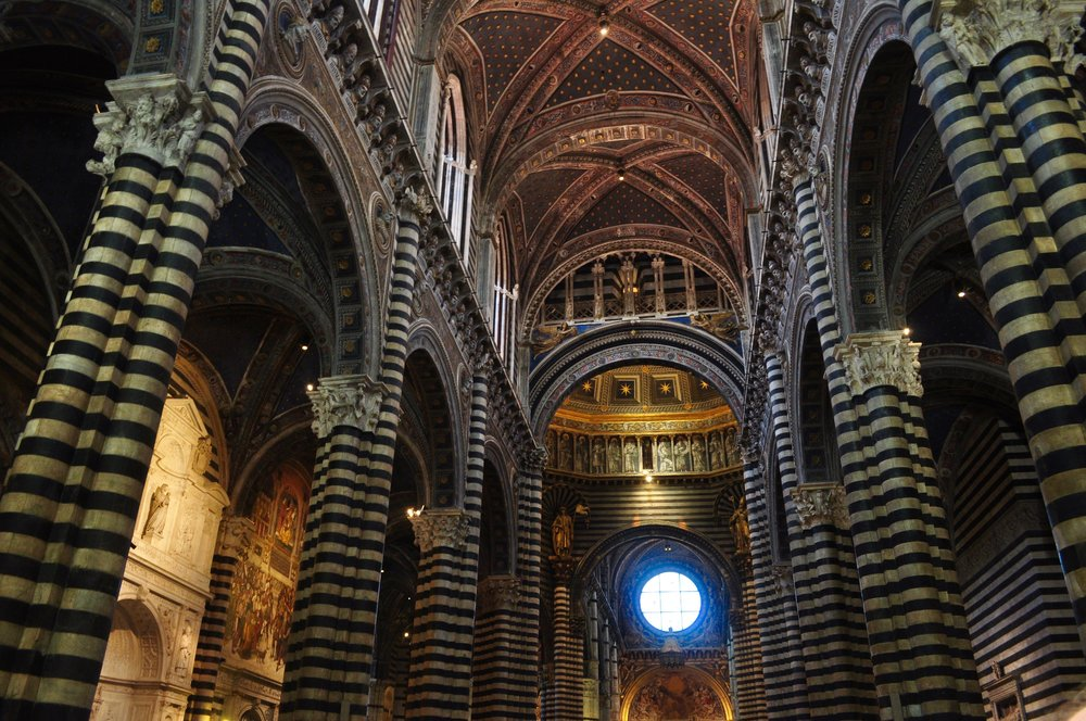 Siena Cathedral Interior - Scenic Day Trip to Siena from Florence, Italy - A Happy Passport